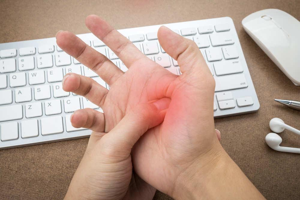 Lesiones de informáticos