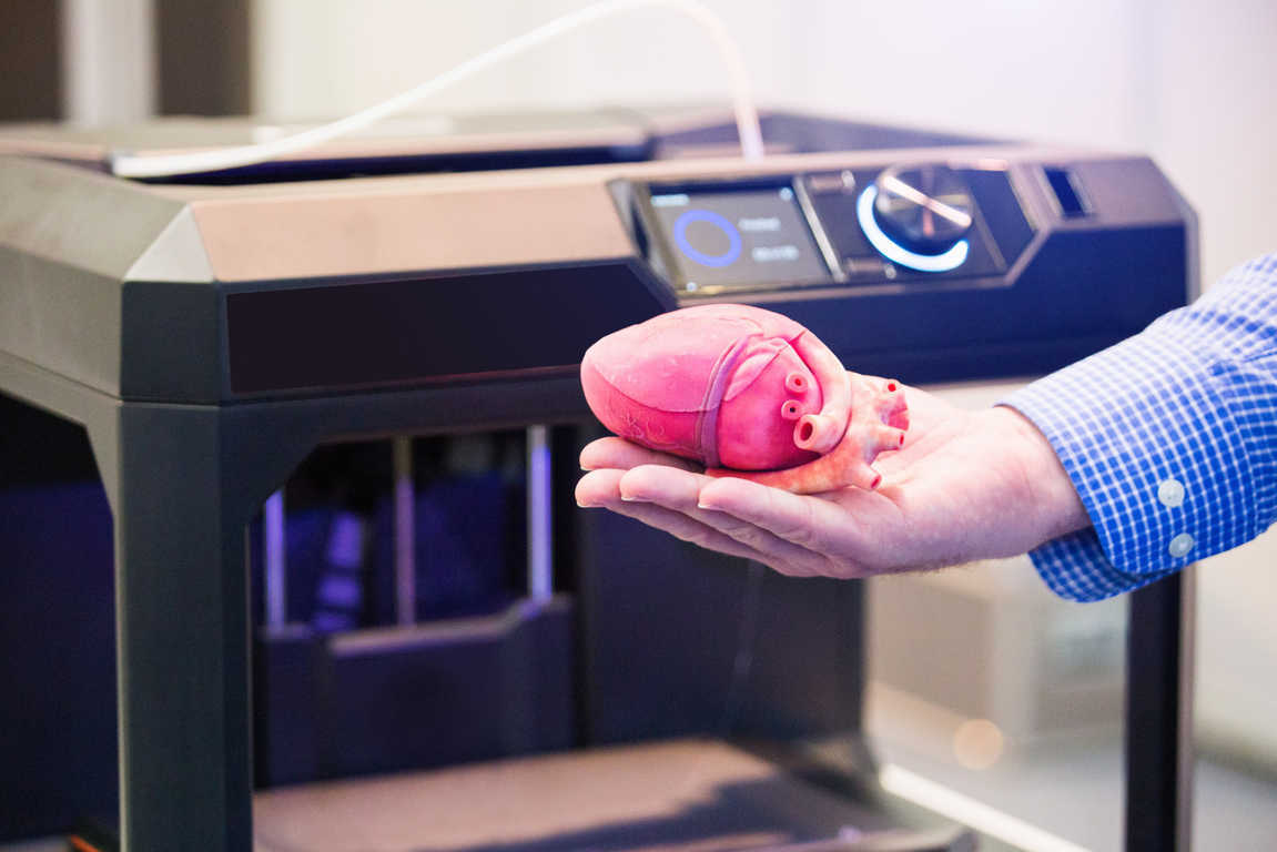 La aplicación de la tecnología 3D en medicina